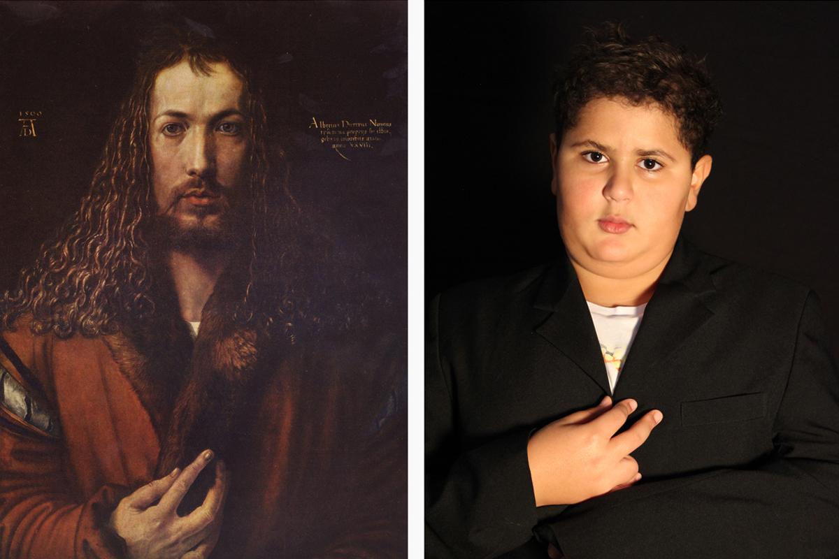 """Albrecht Dürer """"Selbstbildnis im Pelzrock"""""""