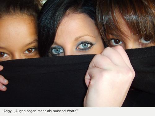 Augen sagen mehr als tausend Worte