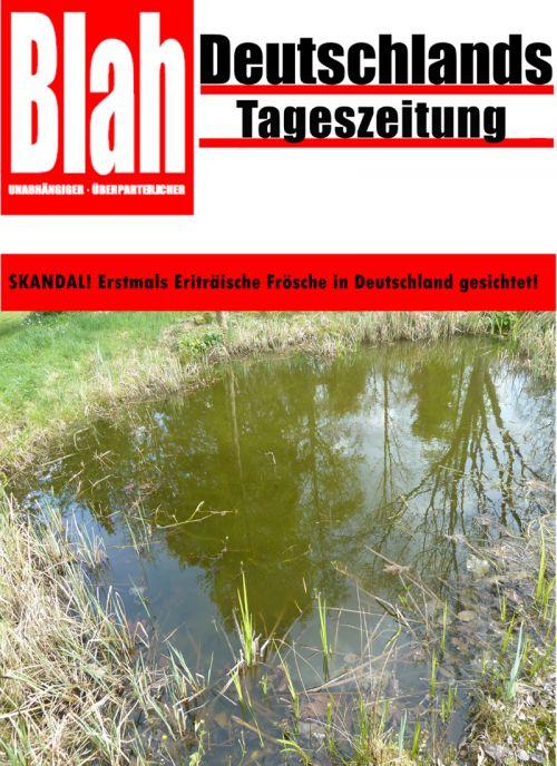 Skandal! Eriträische Frösche in Deutschland