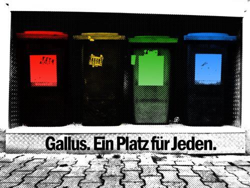 Gallus. Ein Platz für Jeden