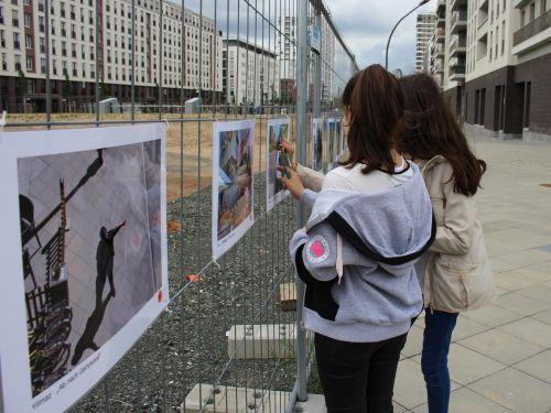 Bürgerbeteiligung zur Gestaltung eines Wandbilds am Tunnel im Europaviertel