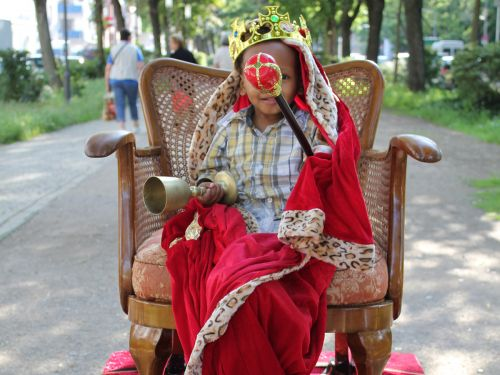 "Fotoshooting ""König vom Gallus"""